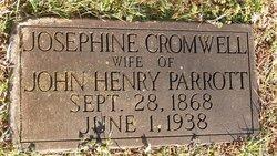 Josephine <I>Cromwell</I> Parrott