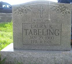 Laura K Tabeling