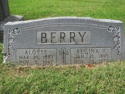 Elizabeth Regina <I>Hamilton</I> Berry