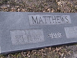 Joe Frederick Matthews