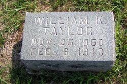 William K. Taylor
