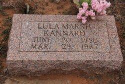 Lula <I>Marsh</I> Kannard