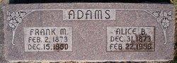 "Frank M. ""Red"" Adams"