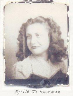Myrtle Josephine <I>Hartman</I> Dohle