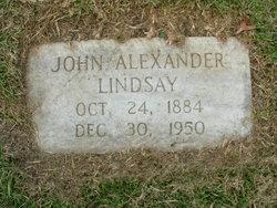 John Alexander Lindsay, Sr