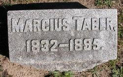 Marcius Taber
