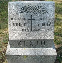Bertha May <I>Reynolds</I> Klein
