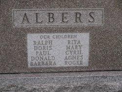 """Edward L. """"Ed"""" Albers"""