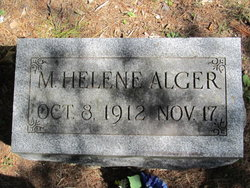 M Helene Alger