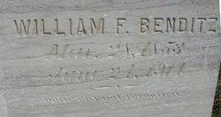 """Wilhelm Friederich """"William"""" Benditz"""