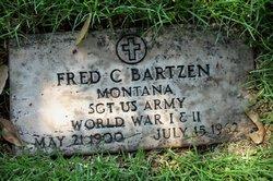 Sgt Fred Clement Bartzen