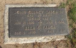 John Quincy Tabor, Sr