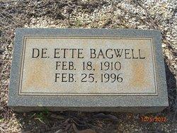 Deette Myrtie <I>Jones</I> Bagwell