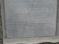Catherine <I>Goebel</I> Bradley