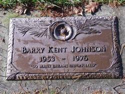 Barry Kent Johnson