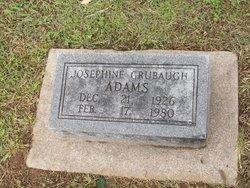 Josephine Permelia <I>Grubaugh</I> Adams