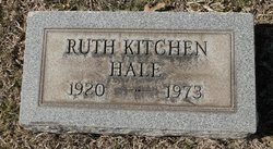 Ruth <I>Kitchen</I> Hale