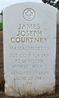 SGT James Joseph Courtney