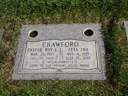Rev Roy Lawrence Crawford