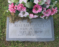 Ada Irene <I>Barrett</I> Allen