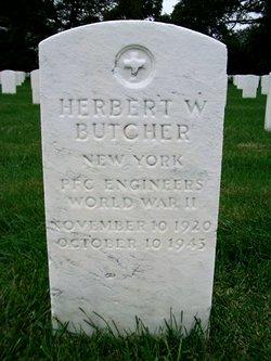 PFC Herbert Webster Butcher