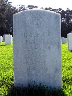 BG Ralph Edward Haines
