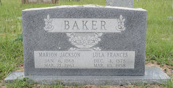 Lula Frances <I>Smith</I> Baker