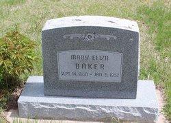 """Mary """"Eliza"""" <I>Box</I> Baker"""