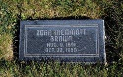 Zora <I>Memmott</I> Brown
