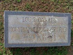 Lou <I>Sloan</I> Fite