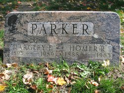 Margery F <I>Robards</I> Parker