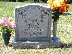 Dorothy Elliott <I>Butler</I> Allen