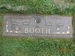 Gertrude J. <I>Shuman</I> Booth
