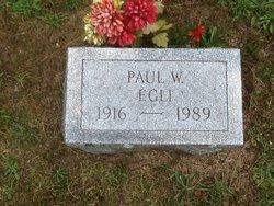 Paul Woodrow Egli