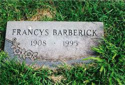 Francys I. Barberick