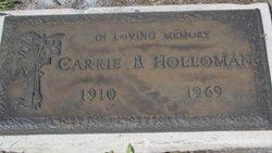 Carrie B. Holloman