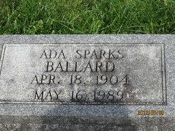 Ada <I>Sparks</I> Ballard