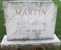 Pauline M <I>Martin</I> Martin