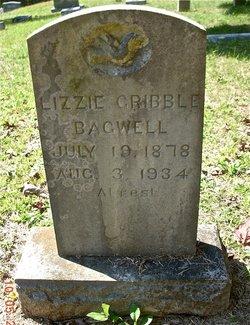 Mary Lizzie <I>Gribble</I> Bagwell