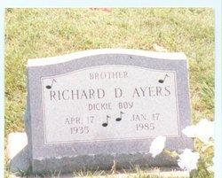 """Richard D """"Dick"""" Ayers"""