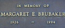 Margaret E Brubaker