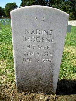 Nadine Imogene <I>Hayes</I> Cullor