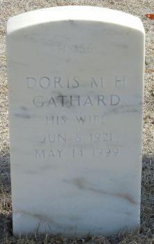 Doris M H <I>Sandidge</I> Gathard