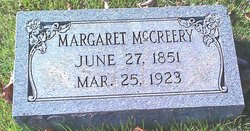 "Mrs Margaret A. ""Maggie"" <I>Ballowe</I> McCreery"