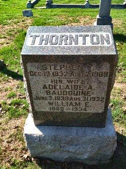 Adelaide Ann <I>Baudouine</I> Thornton