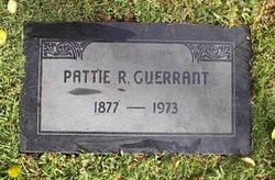 Pattie R. <I>Guerrant</I> Guerrant