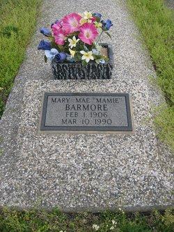 """Mary Mae """"Mamie"""" <I>Shiell</I> Barmore"""