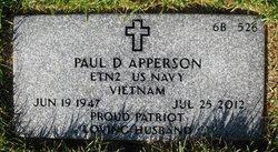 Paul D Apperson