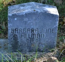 Barbara Jane Allman