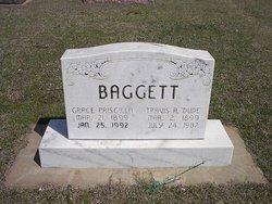 Grace Priscilla <I>Parmer</I> Baggett